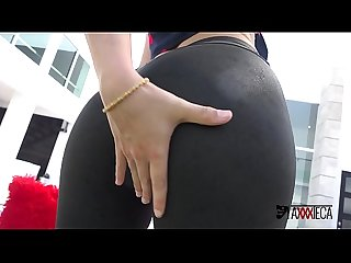 Axxxteca Hot spanish Teen zoe doll gets her big booty fucked by brazilian long black dick