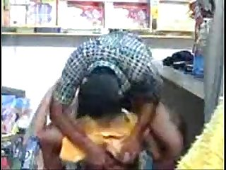 Indian Hot young sexy couple Fucking in store room wowmoyback