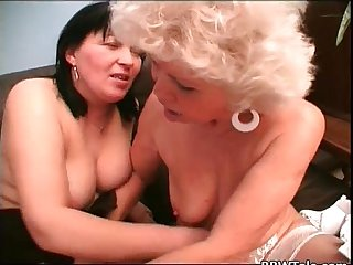Old nasty ladies lesbian play and great