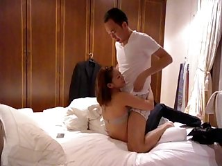 asian amateurs bedroom vid with mali