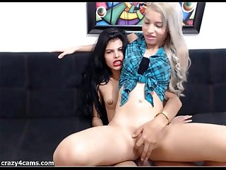 Beautiful Skinny Shemale Couple Fucking Hard - http://bit.do/xvidsd