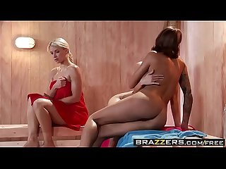 Brazzers hot and mean jenni lee juelz ventura hot sauna pussy