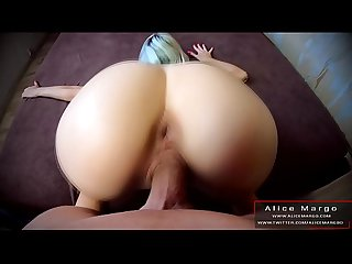 Big Dick Fuck Me In DoggyStyle! Sperm Flows Down My Back! AliceMargo.com