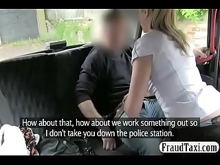 White dressed blonde sexy babe hammered in car more on rtlporn com