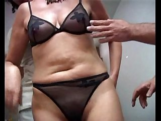 Mature gets pussy insertion