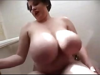Huge Huge Swinging Tits By a German Milf