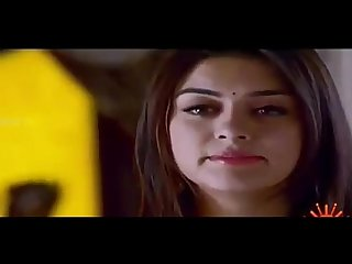Hansika motwani Hot navel exposing and seducing scene
