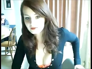 Morocha Amateur Tetona Coje En La Webcam [ More on youcamgirl.net/webcamgirls..