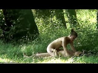 Voyeur forest sex footage