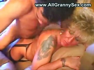 German granny fucked