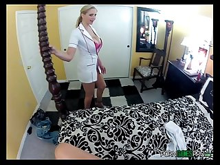 Julian Ann to come play a naughty nurse with your giant thermometer