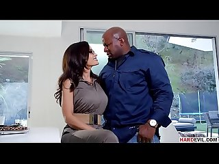Lisa ann craving for prince s big black cock