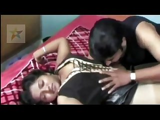 Hot indian beautiful housewife trapped by young boy when she was unconscious