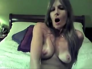 Fucking herself with a dildo milf from www maturedating club is horny as fuck