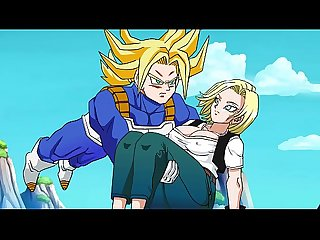 Rescuing Android 18 - Hentai Animated Video