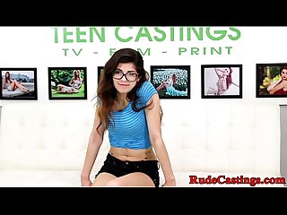 Spex teenie hardfucked at casting audition