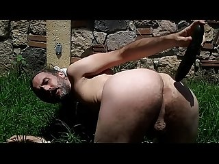 GREGORY HARRINGTON american gringo fucks ass with cucumber in morelia michoacan mexico public anal..