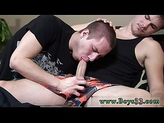 Free daily gay porn clips first time Aaron moaned loudly as he felt