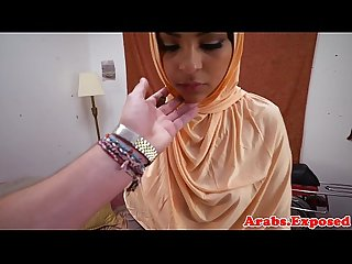 Ethnic arab babe gets fucked and fingered