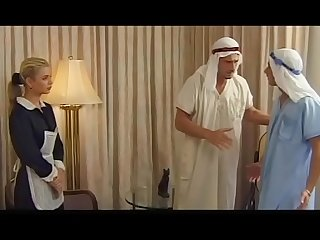 Demia Moor, Naughty Maid enjoys DP