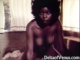 Vintage interracial porn 1970s the open road