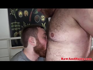 Sucked off mature bear barebacks bearded cub