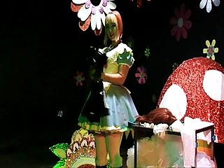 Straight Guy Sissy Maid Forced Crossdressing Alice In Wonderland Humiliation