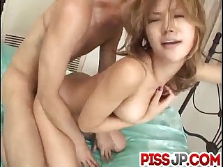Akane Hotaru screams while having cock in her ass