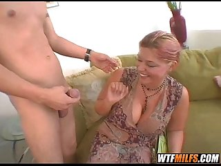Milf with some huge jugs 3
