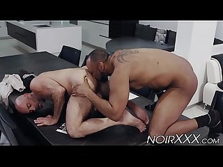 White dude got his hairy ass drilled by hung Ray Diesel