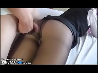 Jav hostess pantyhose foot fetish sex more at elitejavhd com