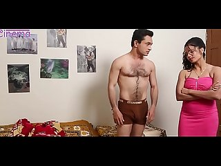 Hot Indian short films - Mis Roja boob kissing n squeeze by her boss HD