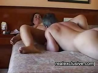 Mature couple 69 in our hotel