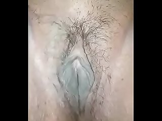 Close up of beautiful Indian pussy fingering