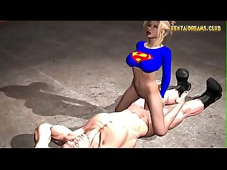 Super girl anime more at www hentaidreams club