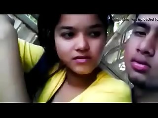 Indian girl with his cousin brother enjoying Watch full GODDESS at..