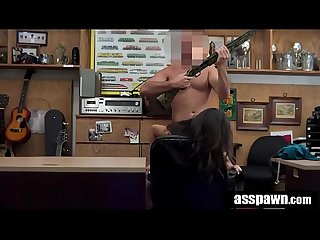 Real Spycam Sex: Native American Samantha Parker Selling Ex's Gun At Pawn-Shop
