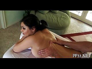 Naked massage movie scene