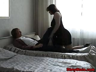 Brunette Mom Fuckes With Her Young Lover
