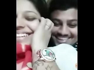 Indian desi lovers kissing