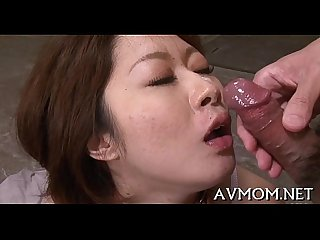 Whore mother i'd like to fuck asian sucks on hard cock